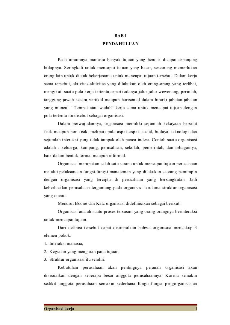 Makalah Organisasi Wood Scribd Indo