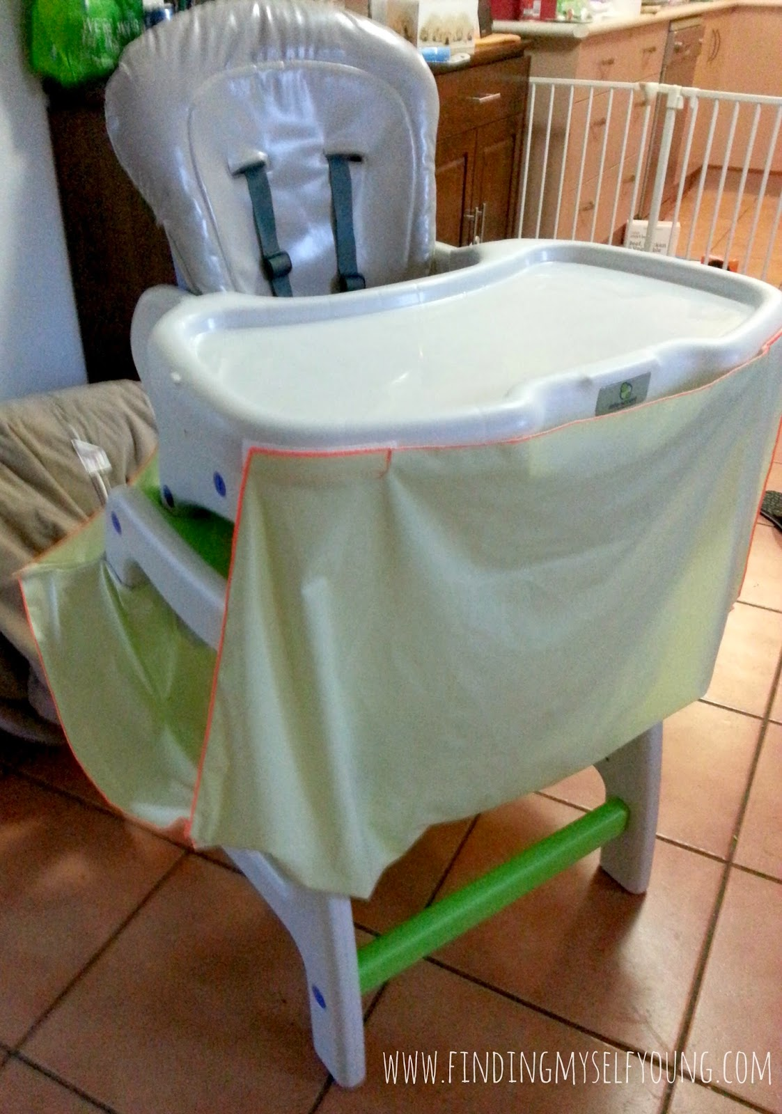 High Chair Food Catcher Turquoise Armless Finding Myself Young Mummy Must Have Review Mumma 39s