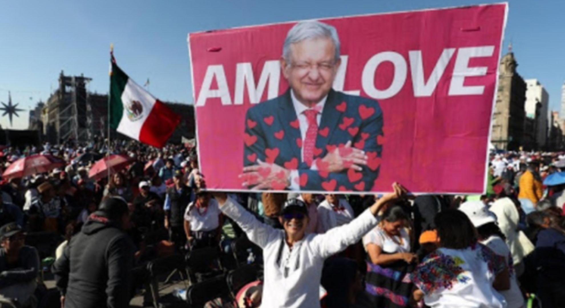 """""""El Presidente nos necesita"""", simpatizantes de la 4T convocan a """"la marcha del millón"""" para APOYARLO"""