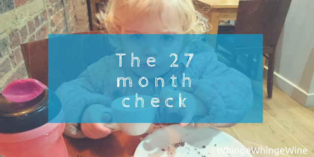 The 27 month check: What to expect from your health visitor visit