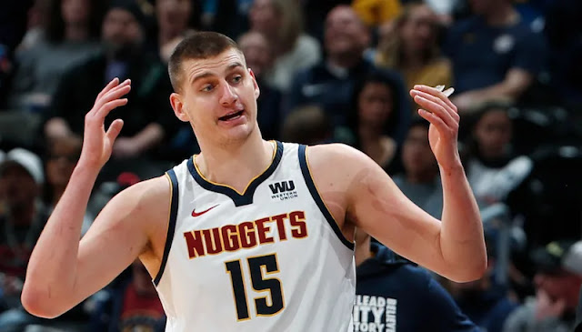 Nuggets center Nikola Jokic was named to the All-NBA first team on Thursday. It's the first time Jokic has been named to the All-NBA First Team.