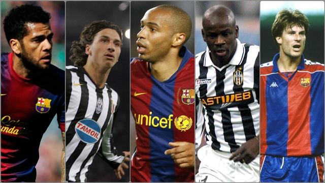 Inilah Pemain Yang Pernah Membela Juventus Dan Barcelona