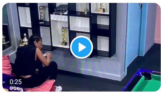 BBNaija: In case you missed how Nini exited Biggie's house, click here to watchthe video