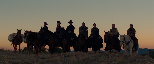horses scene on hostiles