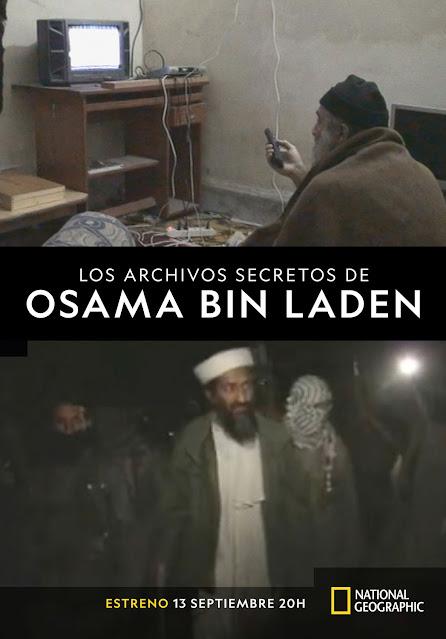 Cartel Los archivos de Osama Bin Laden
