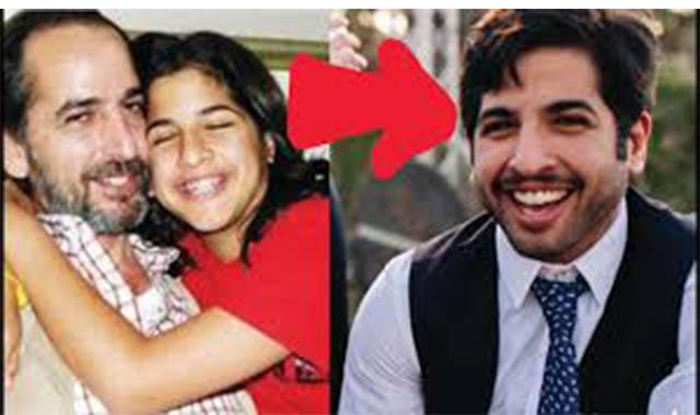 نور أبن هشام سليم بعد تحولة يرتدي حلق ويثير أمة جديدة