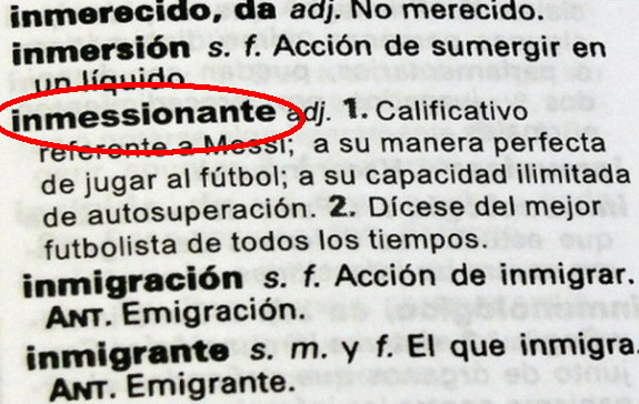 If the Spanish dictionary says it, it has to be true, right?
