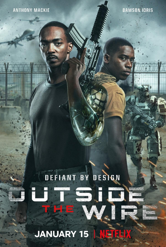 Outside The Wire, Movie Review by Rawlins, Action, Android, Adventure, Fantasy, Netflix, RawlinsGLAM, RawlinsLifestyle