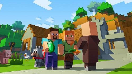 Minecraft có sức hút rất mạnh với người chơi ở nhiều thế hệ khác biệt