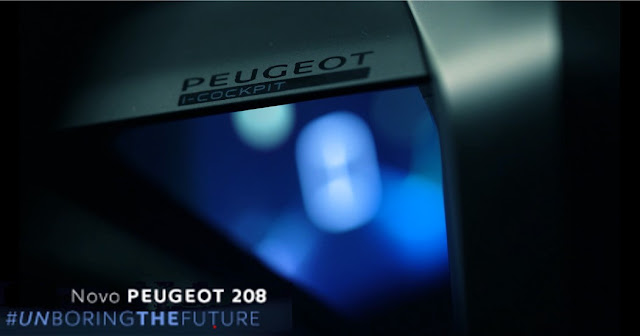 Novo Peugeot 208 2021 brasileiro terá i-Cockpit 3D - vídeo