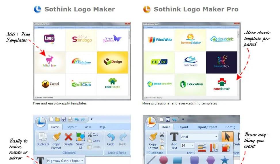 3) برامج تصميم شعارات للكمبيوتر logo Creator