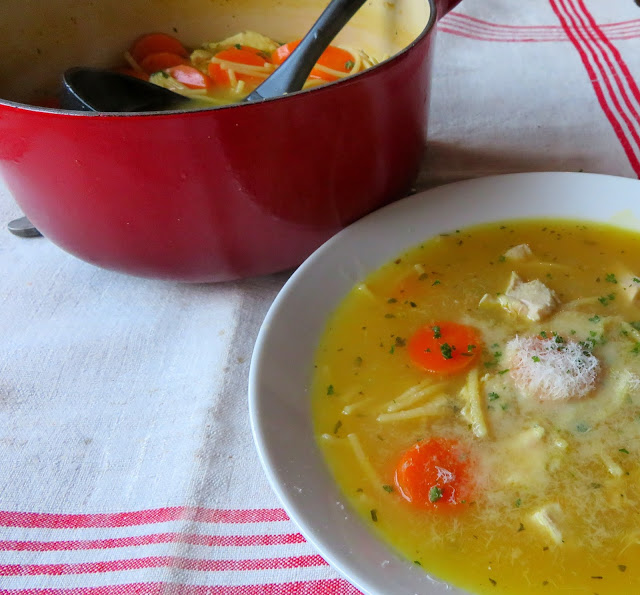 Lemon & Chicken Soup