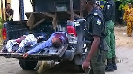 robbers killed police ecobank
