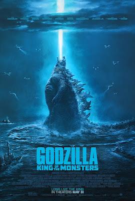 Póster película Godzilla Rey de los monstruos - 2019