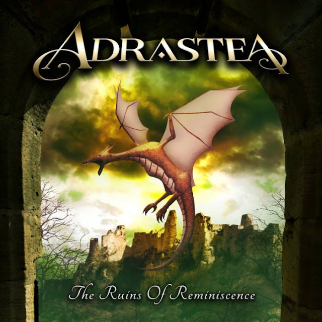 Detail from Adrastea New Album, The Ruins of Reminiscence, Detail from Adrastea New Album The Ruins of Reminiscence