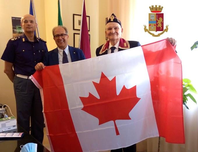 """Dal Canada a Matera """"per salutare"""" il questore Eliseo Nicolì"""