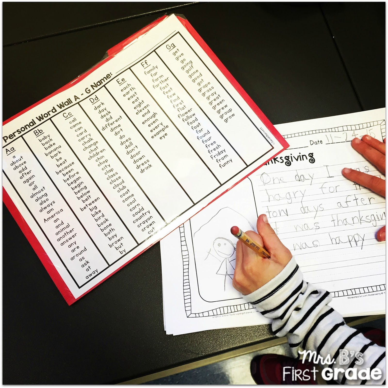 word wall personal students grade folders ways variety there