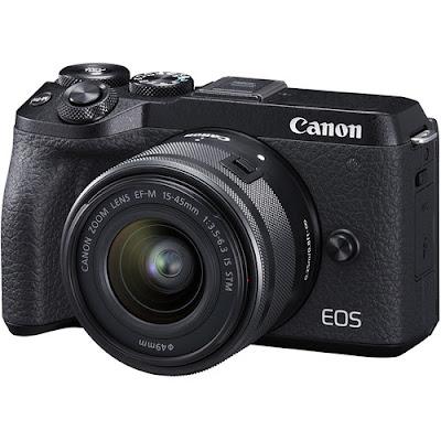 Canon EOS M6 Mark II DSLR Firmware最新ドライバーをダウンロードする
