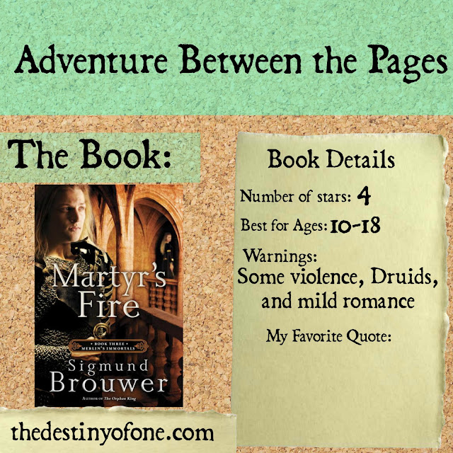 The Destiny Of One Adventure Between The Pages Martyr S border=
