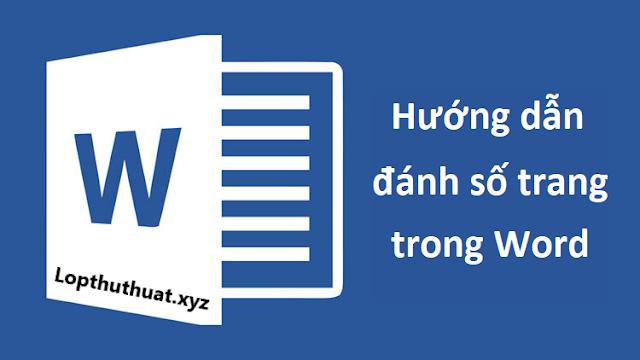 Cách đánh số trang bất kỳ trong Word