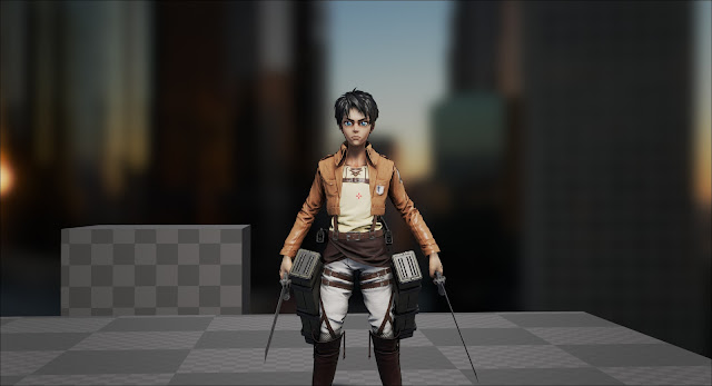 Guedin's Attack on Titan - Fan Game Prototype