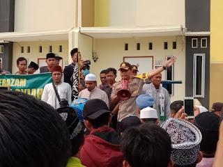 """Demo Tolak Syiah di Karimun, Warga: """"Selamatkan Akidah Anak Cucu Kami"""""""