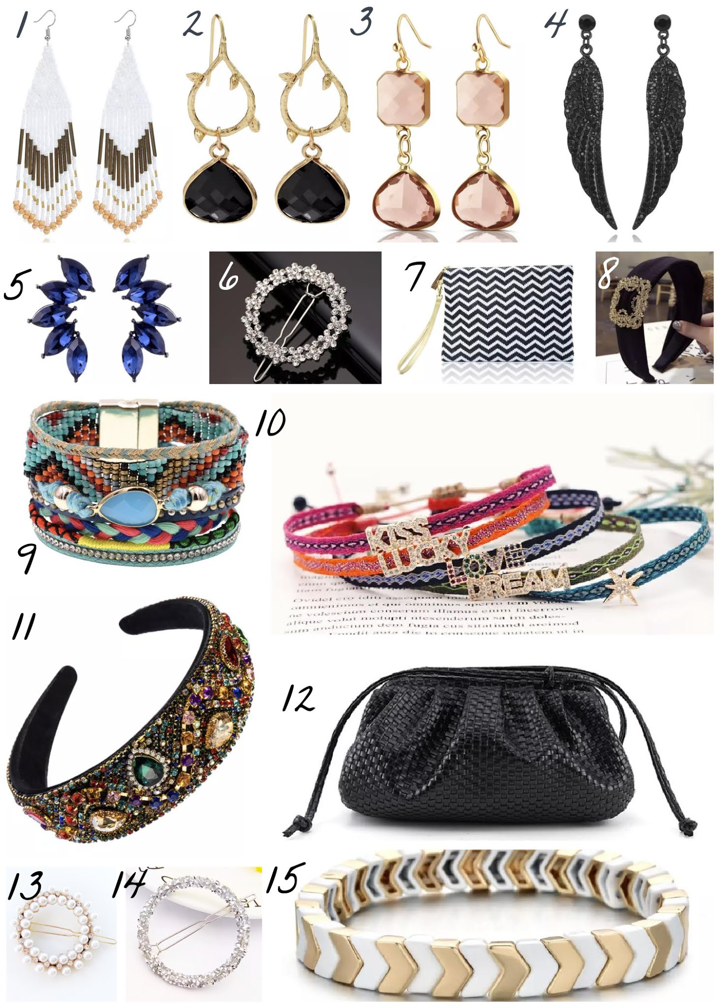 Rose Mae Jewellery Christmas Gift Guide Collage