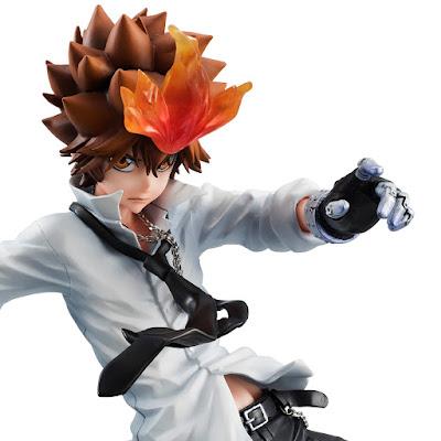 Tsunayoshi Sawada tratto da Katekyou Hitman REBORN della Megahouse