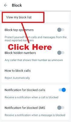 how to block a series of phone numbers in truecaller app
