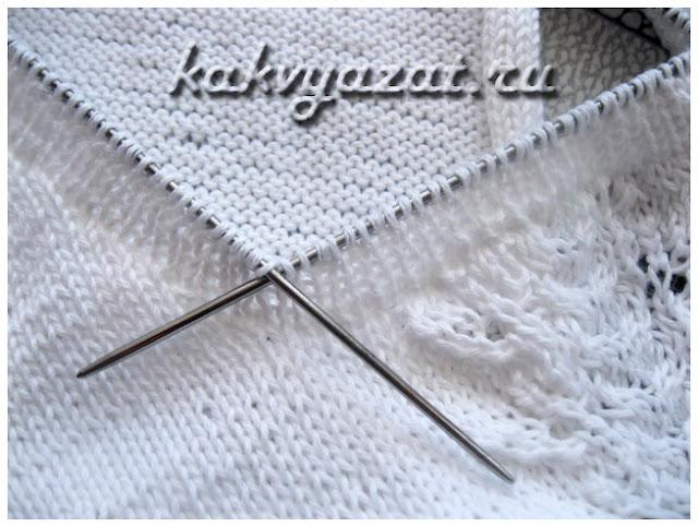 Вязание резинки на чулочных спицах