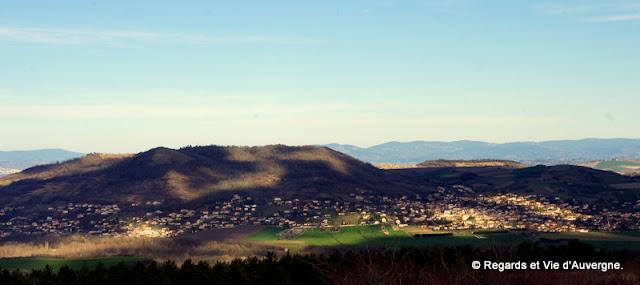 Puy de la Bane et Puy d'Anzelle, Cournon, Auvergne.