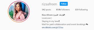 Riza Instagram