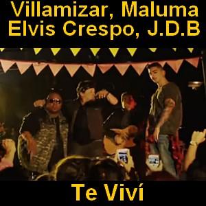 Villamizar - Te Viví ft. Maluma, Elvis Crespo, J.D.B