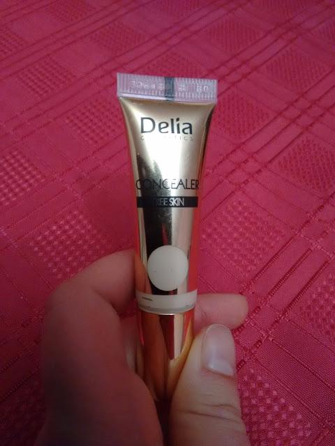 Delia Free Skin korektor pod oczy rozświetlający żółty
