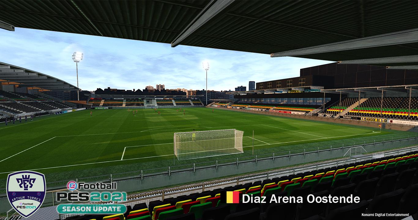 PES 2021 Diaz Arena - Oostende