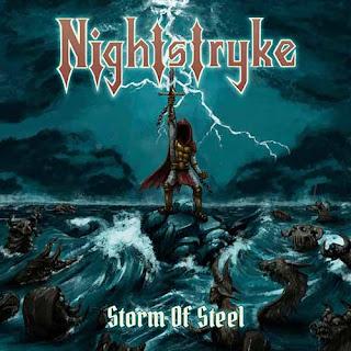 """Ο δίσκος των Nightstryke """"Storm of Steel"""""""