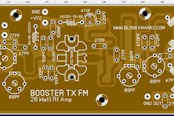 Pemancar Fm Booster Rf 28 Watt