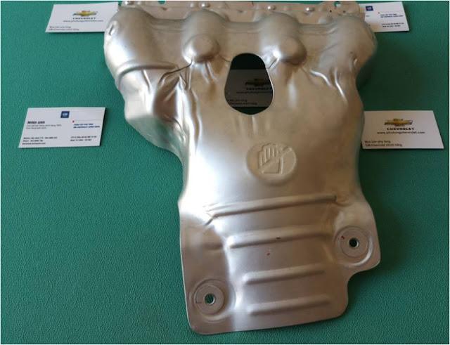 Tấm chắn nóng cổ xả xe Lacetti nhập chính hãng GM