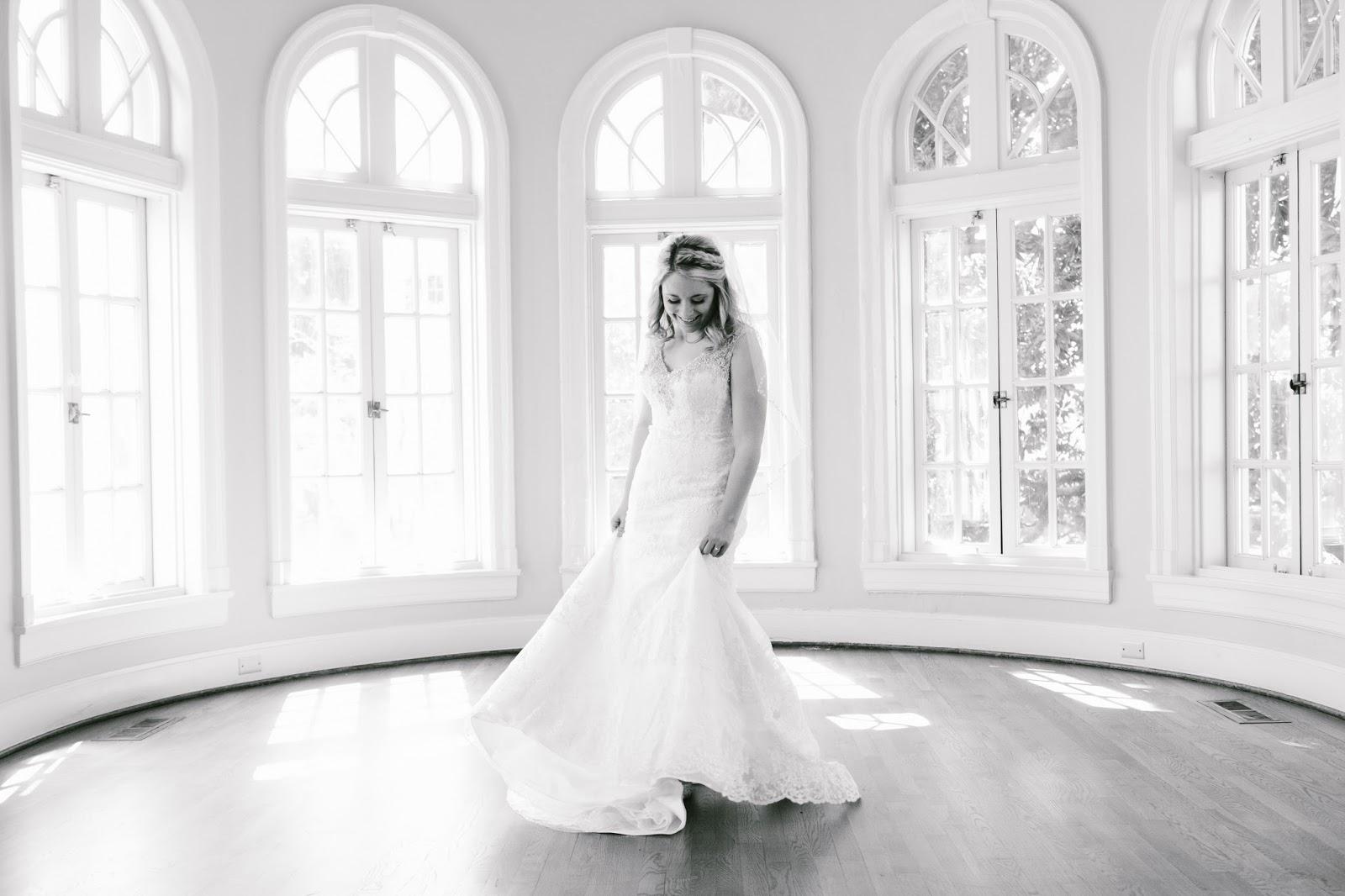 From Britt S Eye View Bridal Session At Tulsa Garden Center