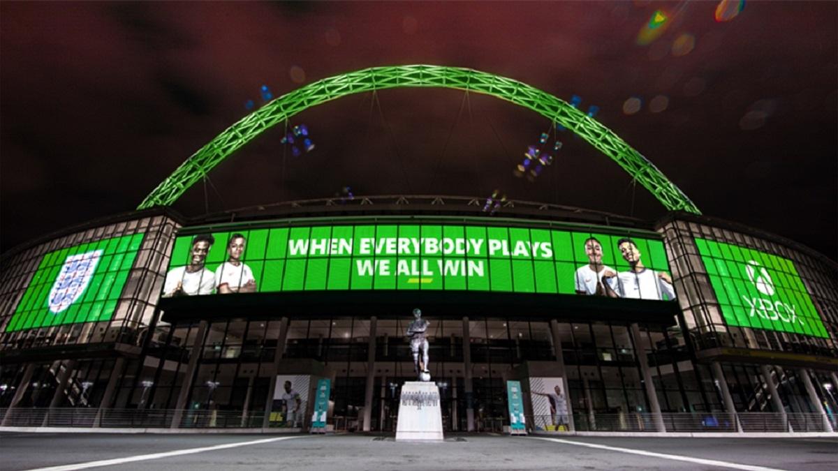 Xbox współpraca z reprezentacją Anglii