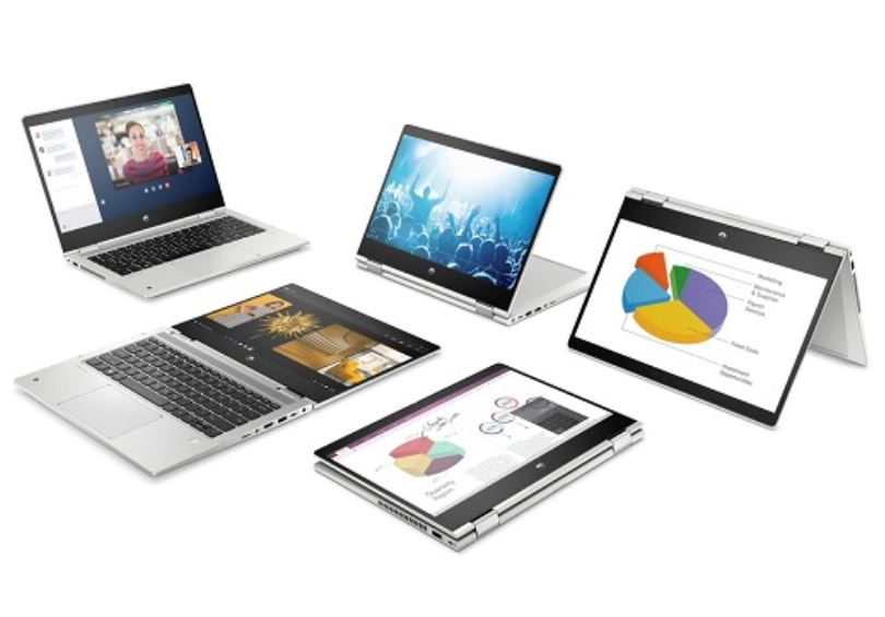 HP ProBook x360 435 G7, Laptop Bisnis Hybrid Bertenaga Ryzen 5 4500U