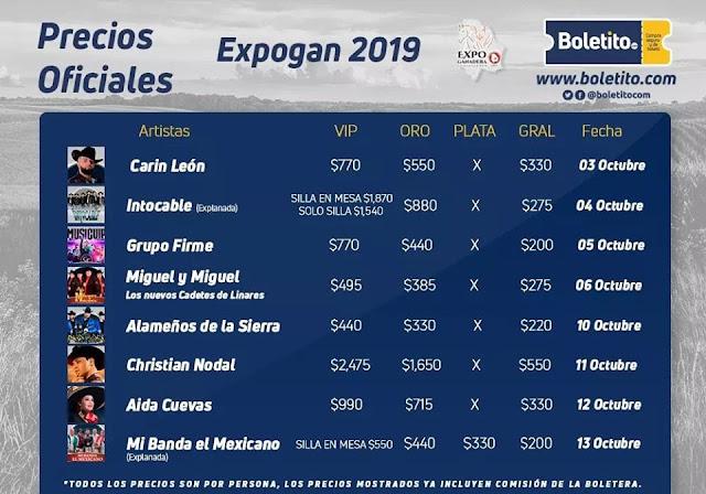 palenque expogan chihuahua 2019 expo ganadera