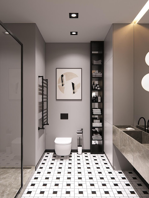 Kajaria Bathroom Wall Tiles Design