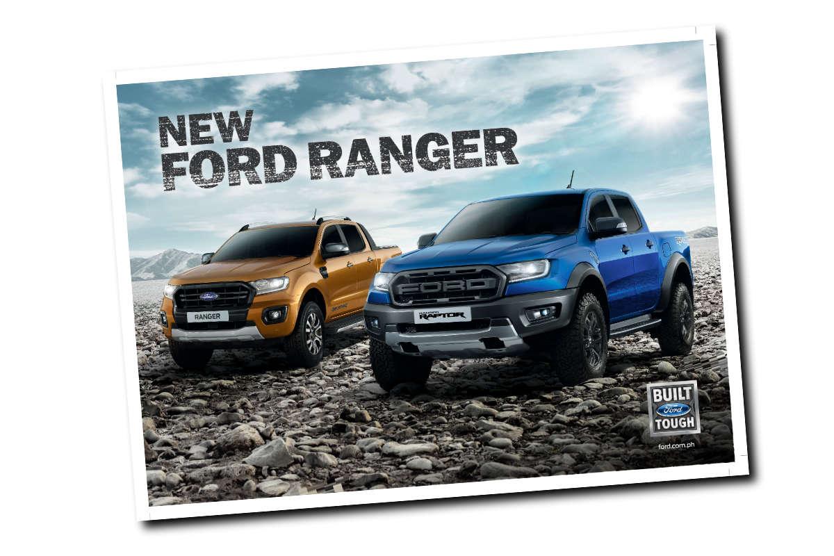 Ranger Brochure on Ford Straight 6 Engine Specs