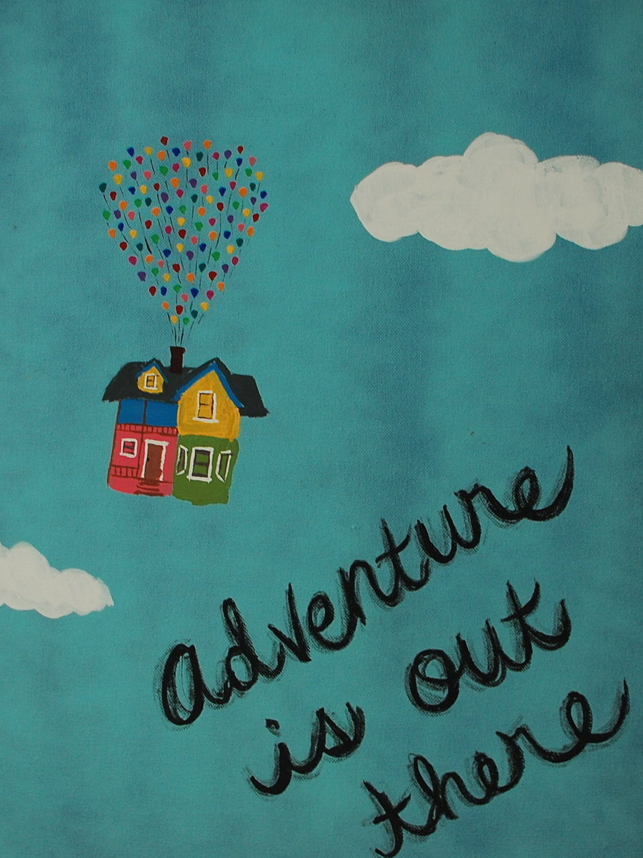 in between the keys: Adventure is Out There!