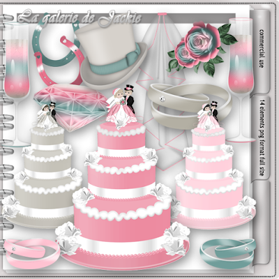 Wilma4ever blog train - Wedding Bliss - cu freebie