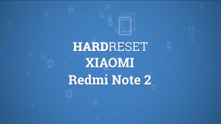 Hard reset redmi note 2