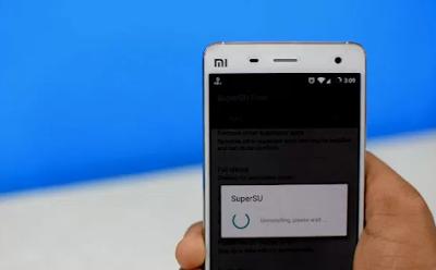 Cara mudah unroot android menggunakan Super SU