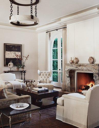Contemporary paint colors for living room design ideas - Living Room
