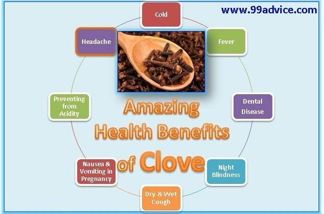 8 Amazing Health Benefits of Clove - 99Advice